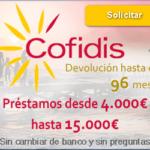 Cofidis préstamo personal